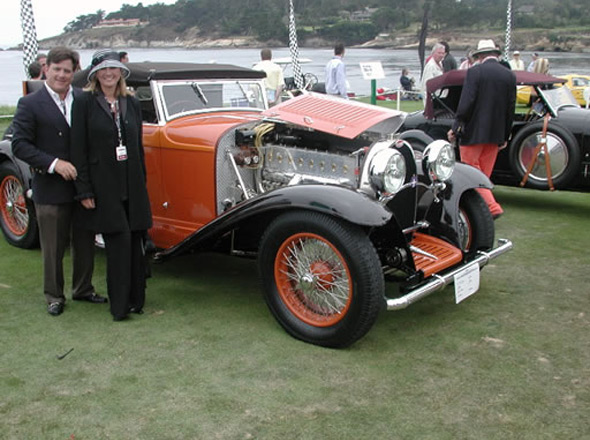 "1924 Type 26 Bugatti, ""Coachworks"" by DeVillers"