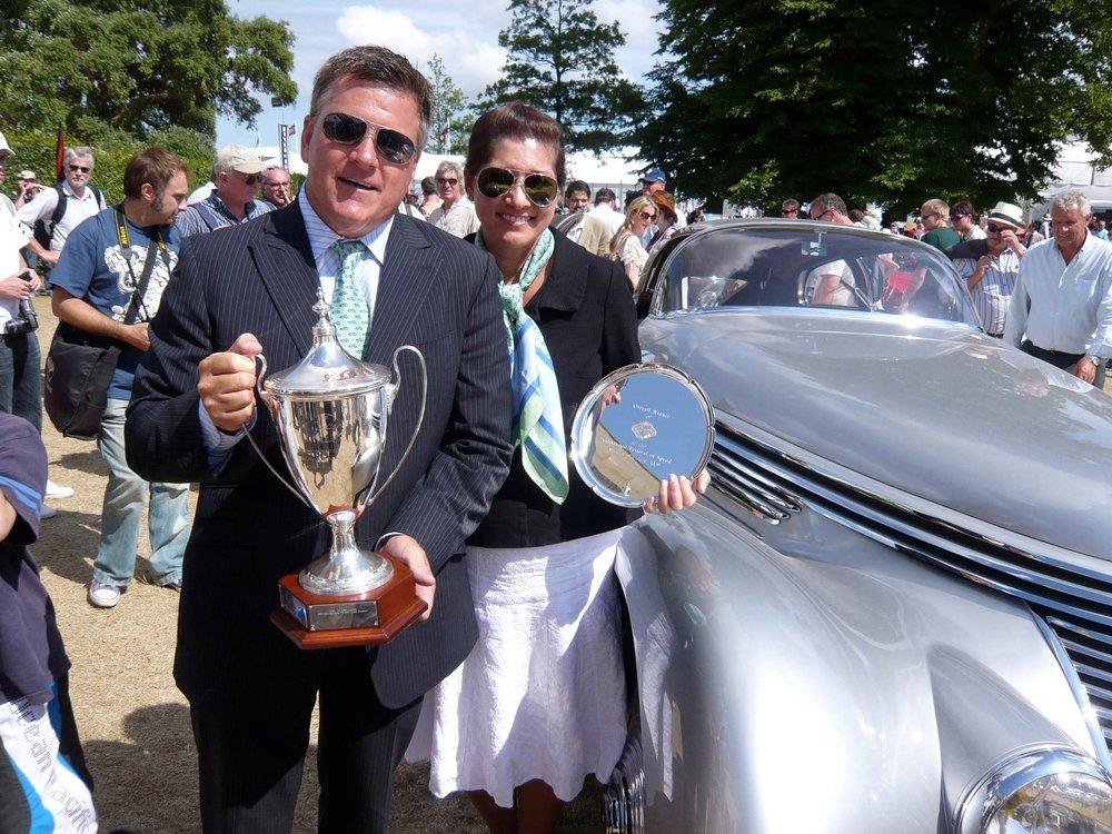 BEST OF SHOW - 2009 Goodwood Festival of Speed1936 Hispano Dobonnet Zenia