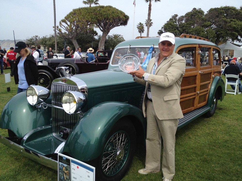BEST OF CLASS - 2009 La Jolla Concours D'Elegance1937 Hispano Suiza