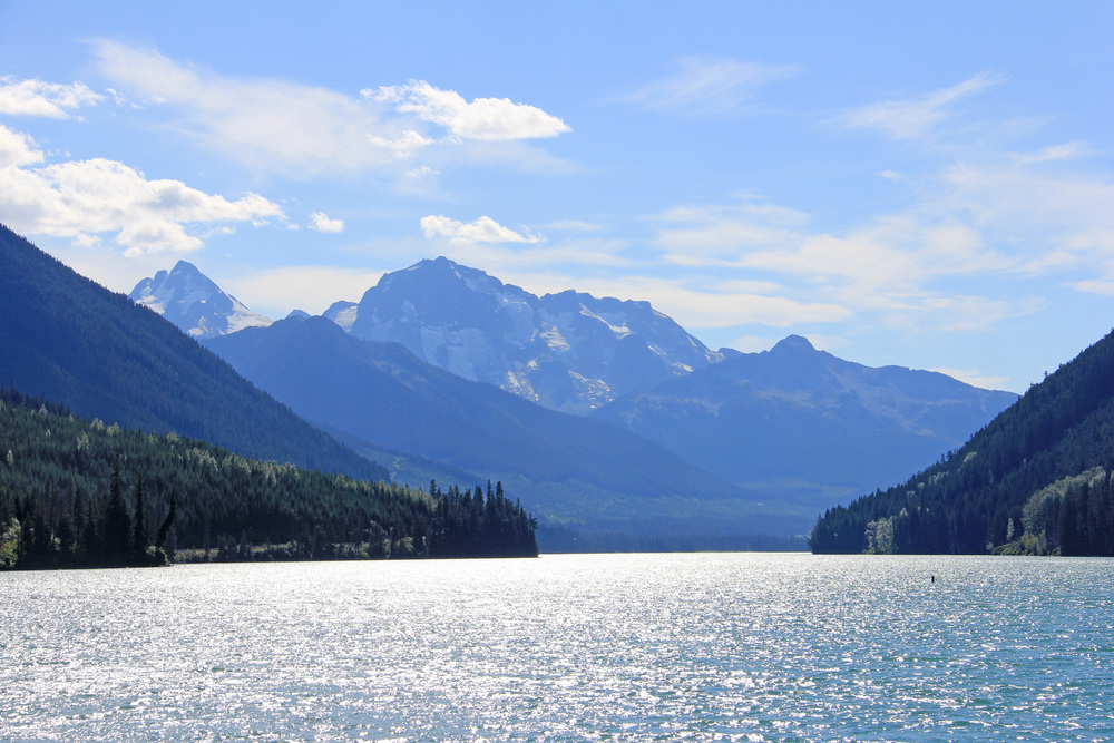 Duffy Lake on the Cariboo Highway, BC
