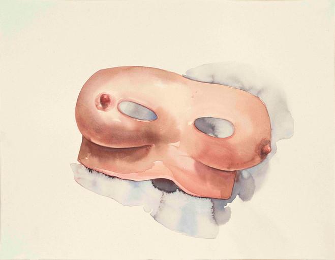 Oda Jaune, Sans titre, 2015   Aquarelle — 35×45 cm Courtesy of the artist & Galerie Daniel Templon, Paris