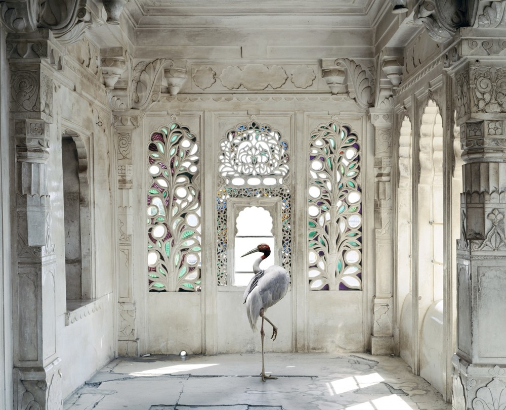 ® Karen Knorr - India Song A Place like Amravati 2, Udaipur City Palace, Udaipur