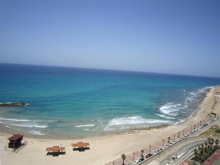 Plage près d'Haifa