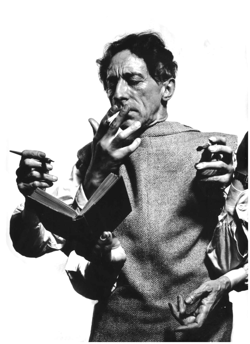 ® Jean Cocteau par Philippe Halsman