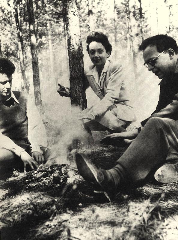 Dionys Mascolo, Marguerite Duras et Robert Antelme