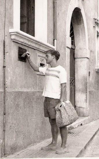 Truman Capote à Taormina