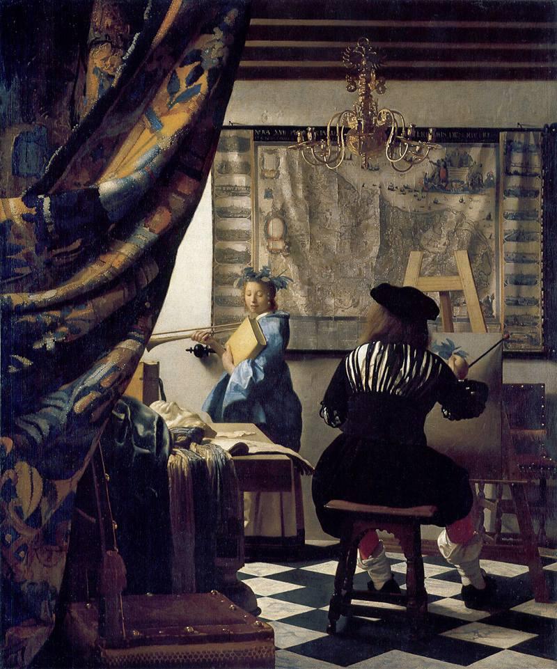L'Art de la peinture (Vermeer, ca. 1666)