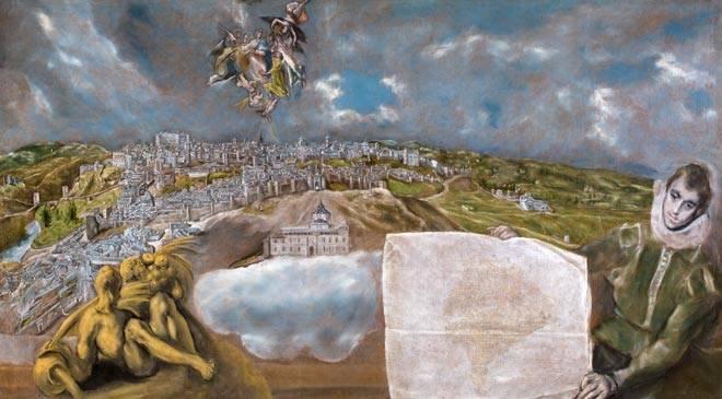 Vue et plan de Tolède (El Greco, 1599)
