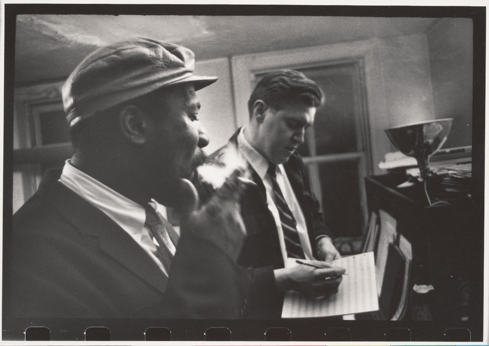 Thelonious Monk et Hall Overton Photo W. Eugene Smith.