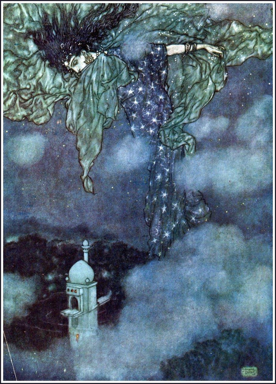 Edmund Dulac - Les Mille et une nuits