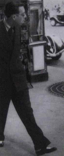 Georges Hénein, marchant à Paris