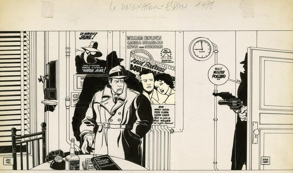 Clerc - Le dessinateur espion