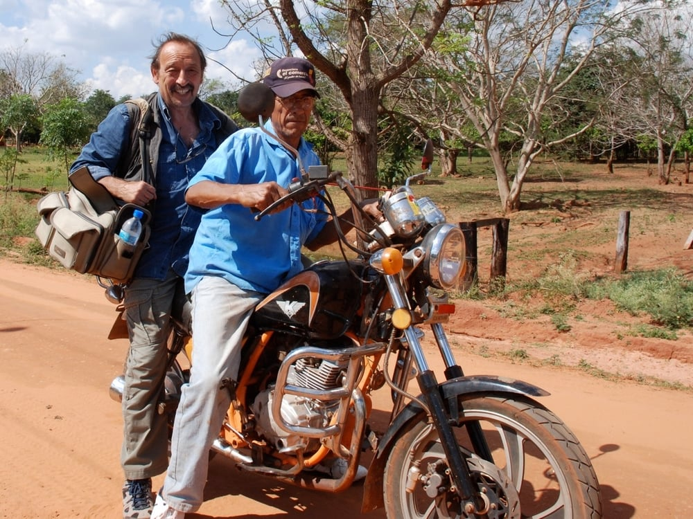 Journaliste et ancien rédacteur en chef du Monde diplomatique, Maurice Lemoine (ici au Paraguay) couvre l'Amérique Latine depuis plus de quarante ans.