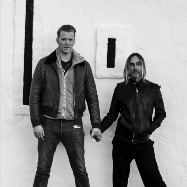 Josh Homme et Iggy Pop