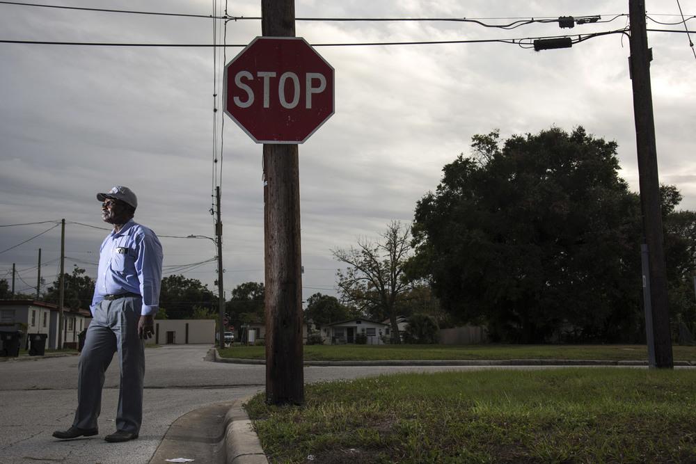 Eddie Walker, 65 ans, pasteur à Orlando en Floride. Photo: Melissa Lyttle for The Intercept