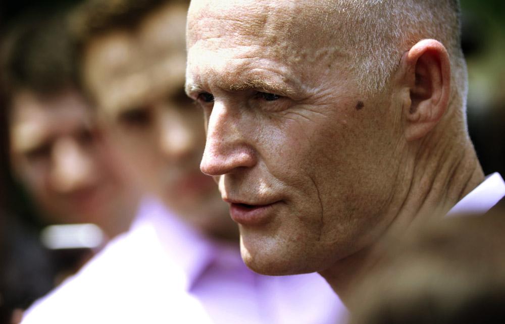 Rick Scott, gouverneur républicain de Floride - Alex Wong/Getty Images