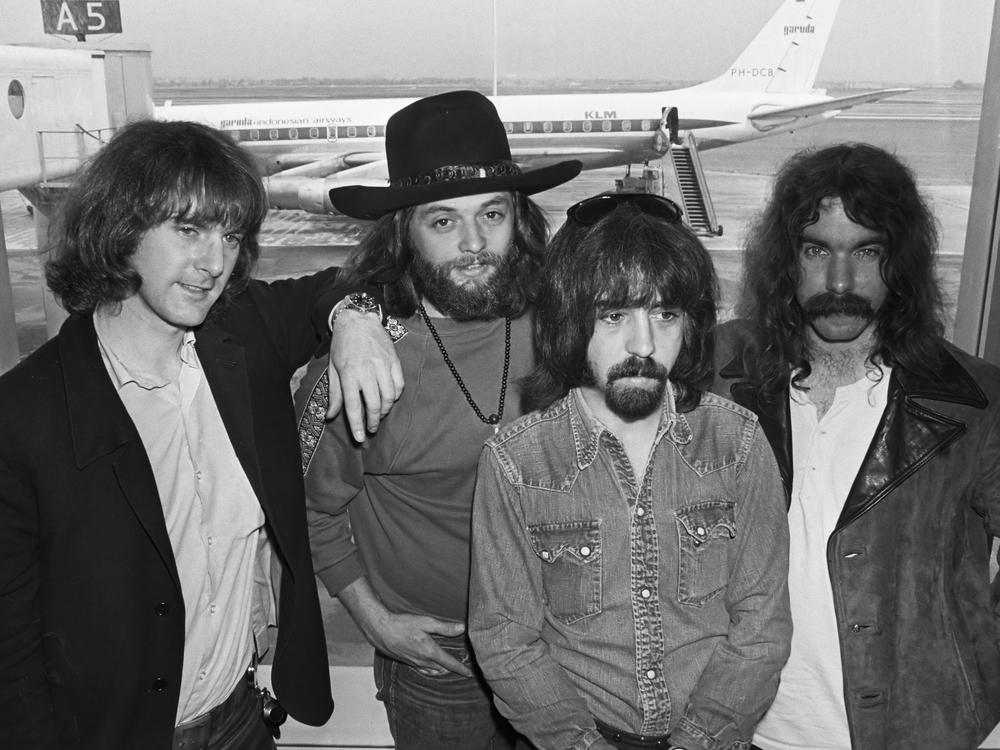 Byrds 70 : Roger McGuinn, Skip Battin, Clarence White, Gene Parsons