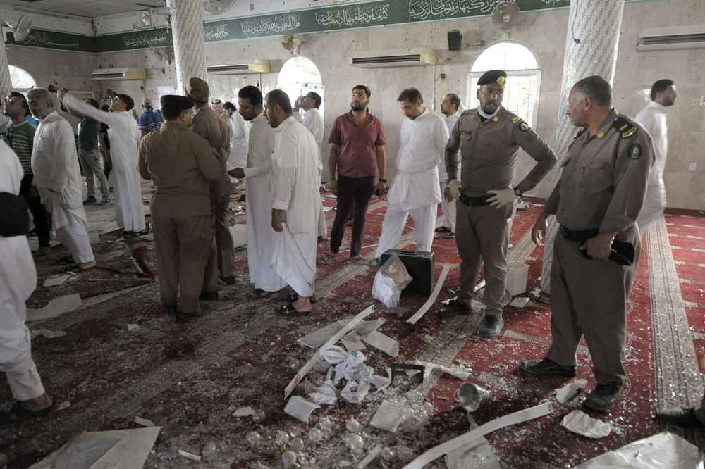 2015 Arabie saoudite: Daesh revendique un attentat contre une mosquée chiite