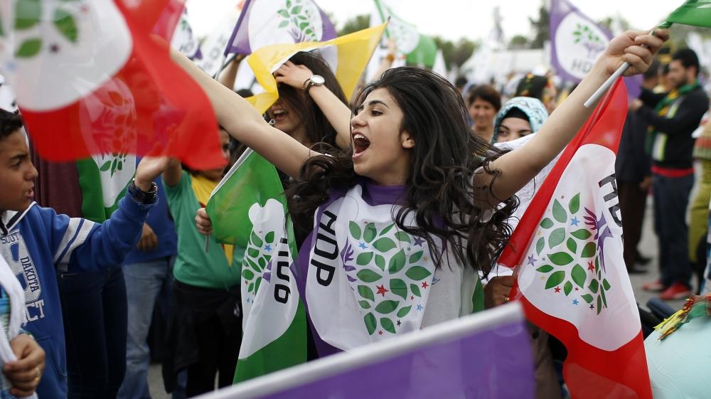 Le HDP, pro-kurde à l'origine, s'est ouvert à toute l'opposition démocratique à Recep Tayiip Erdogan, et est le principal opposant à sa vision autoritaire de la Turquie.