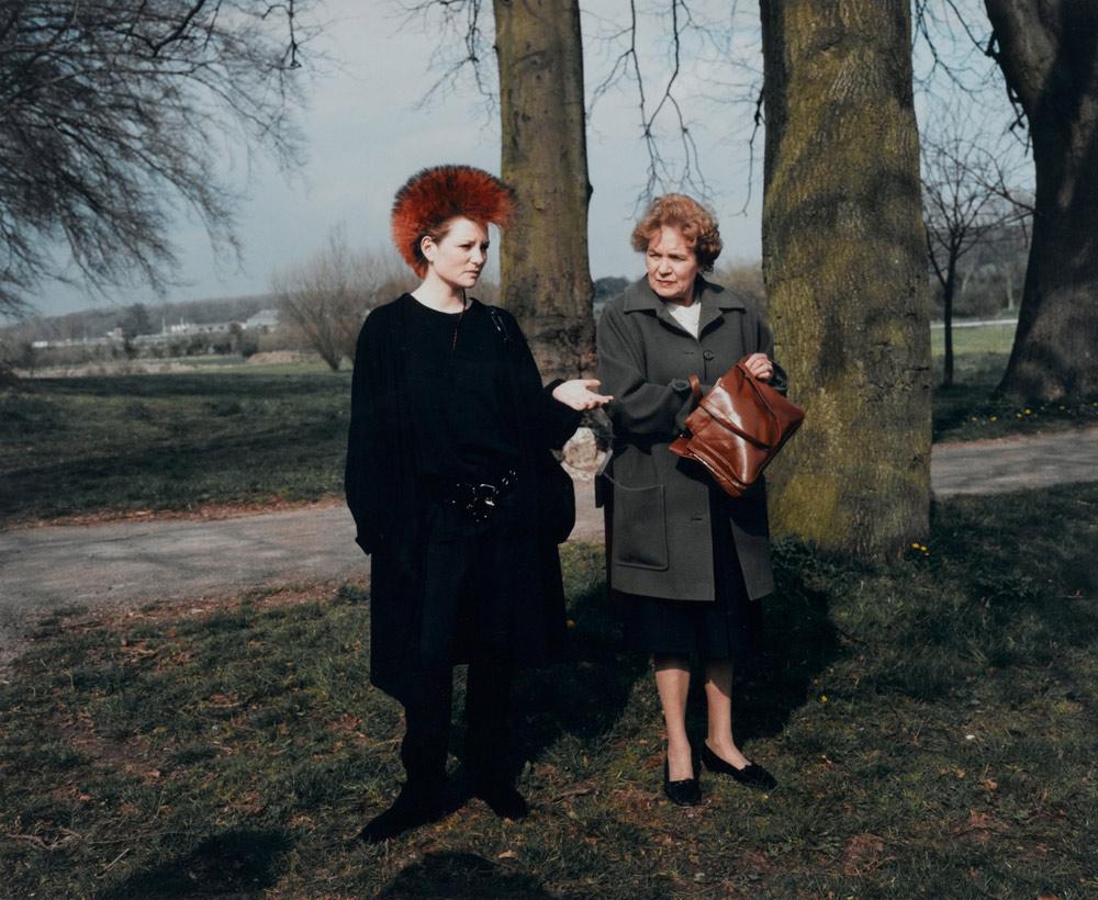 Martin Parr/ Punk et sa maman