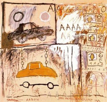 J-M Basquiat  -  Cadillac Moon