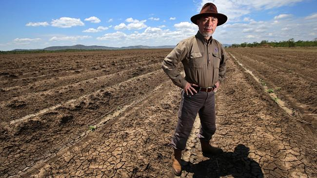Jian Zhong Yin est l'une des nouvelles figures de l'investissement de la Chine dans l'agrobusiness à l'étranger. Il supervise ce qui est potentiellement le plus gros investissement chinois dans l'agriculture australienne : une incursion à haut risque dans le légendaire projet d'irrigation de la rivière Ord, qui représente un milliard de dollars australiens. (Photo:The Australian)