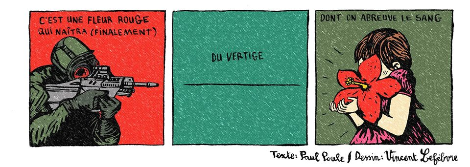 © Vincent Lefèbvre & Kenny Ozier-Lafontaine