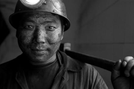 Mineur de charbon, Chine © Michael Coyne