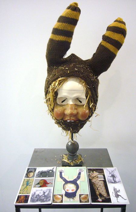 Patrick Van Caeckenbergh, Coiffe tricoter, 2008   © Galerie In Situ