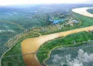 Delta du Fleuve Rouge (Vietnam).