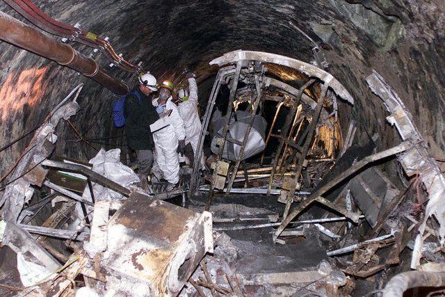 Catastrophe du funiculaire de Kaprun (2000) ® Reuters / Corbis