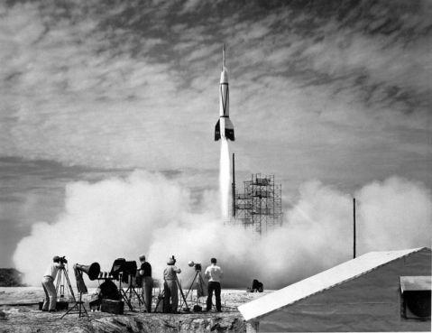 Premier tir d'une Bumper WAC depuis Cap Canaveral le 24 juillet 1950.