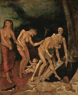 Marche à la mort (Hans Baldung, XVIe siècle)