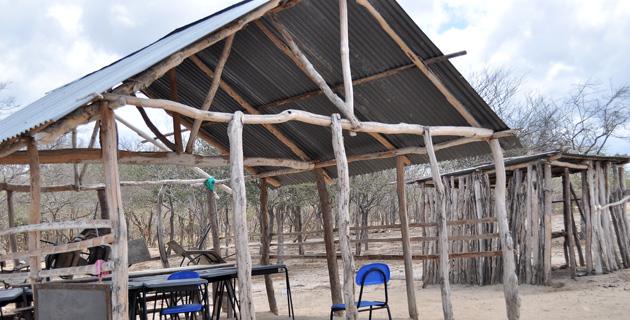 Aquí funciona la escuela de Meshuamana. De 36 niños apenas 15 llegan a estudiar.  Photo Ingrid Gamez