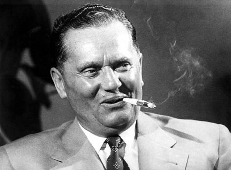 Josip Broz, plus connu sous le nom de Tito