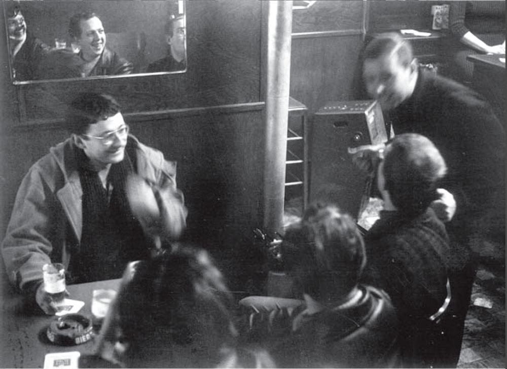 Guy Debord à la sixième conférence de l'Internationale situationniste, 1962, Anvers