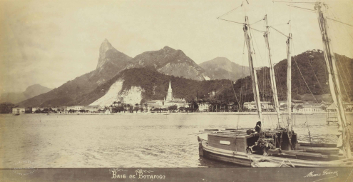 La baie de Botafogo – vers 1885 ® Marc Ferrez