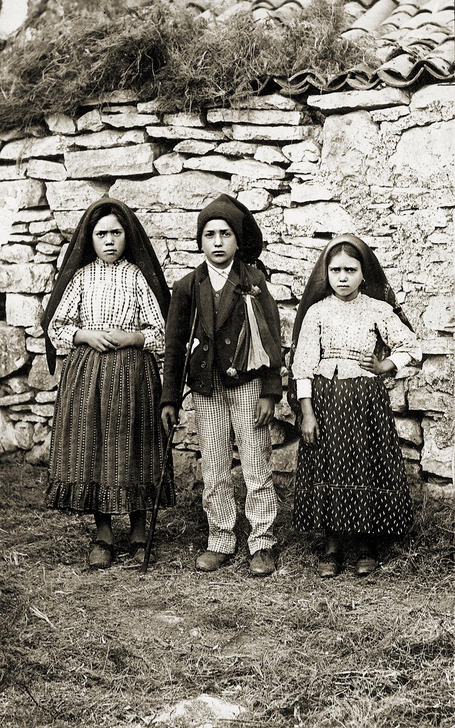 Les enfants qui ont vu la vierge de Fatima, Portugal