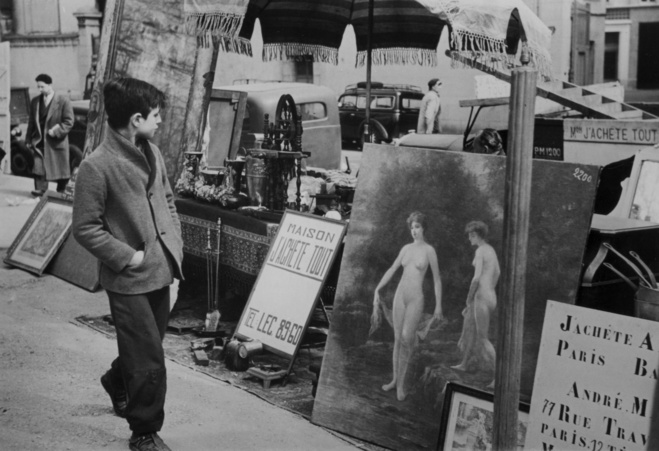Sabine Weiss, Paris marché aux Puces