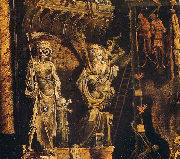 Monsù Desiderio, «Les enfers », 1622 (détail).