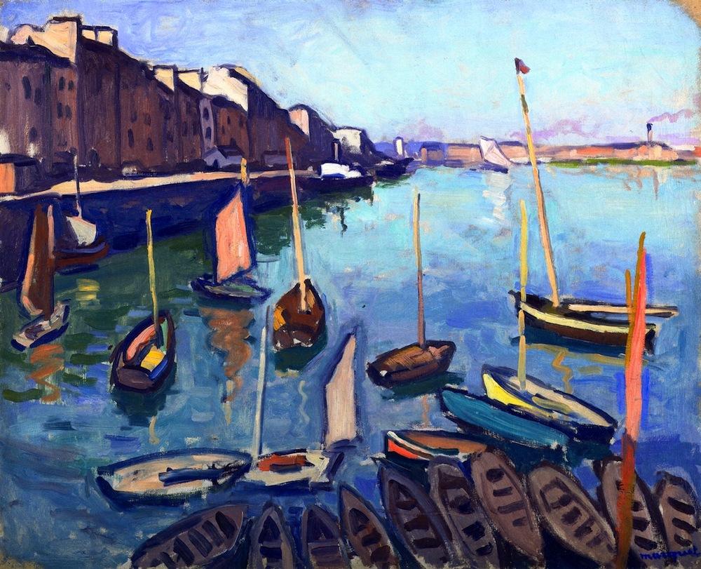 Albert Marquet, Le Port, Le Havre, 1906