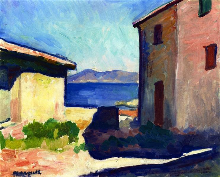Albert Marquet, Maison à Saint Tropez