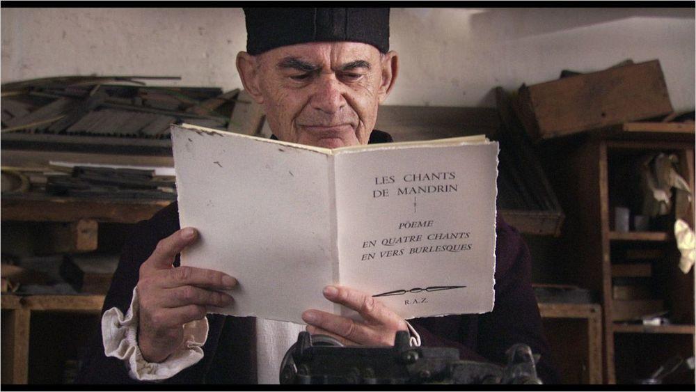"""Jean-Luc Nancy, dans le film de Rabah Ameur-Zaïmeche : """"Les Chants de Mandrin"""", 2011"""