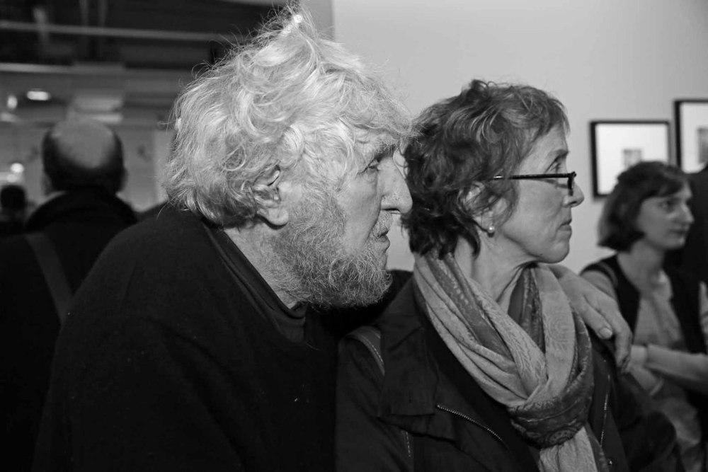 Louis Stettner et sa femme