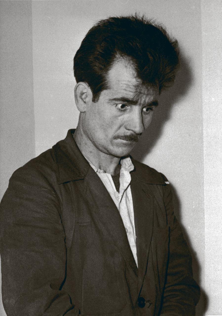 Fernand Iveton le 14 novembre 1956 à Alger, au moment de son arrestation. L'Humanité