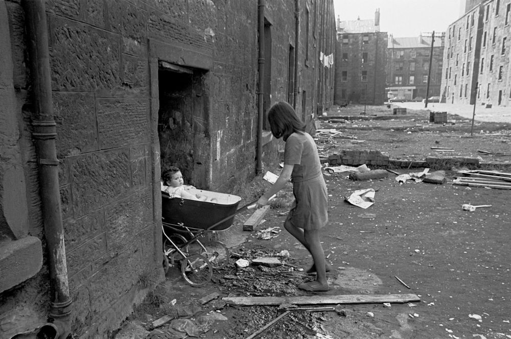 ® Nick Hedges. Glasgow, 1970.