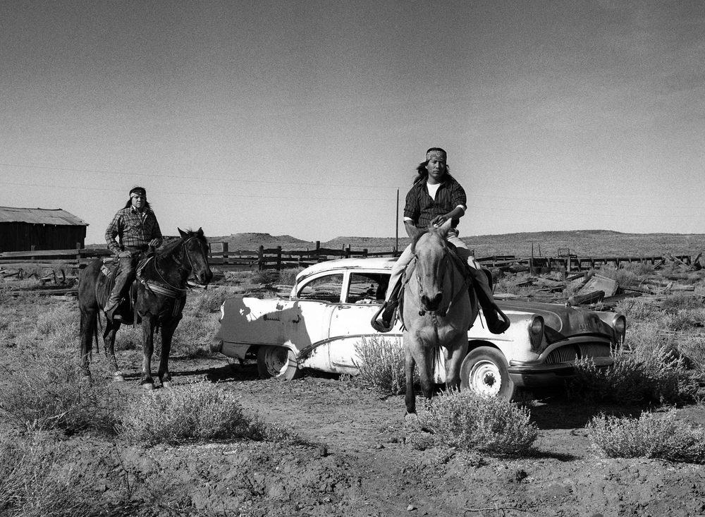 Richard Aujard indiens Navajos - Tirage Argentique