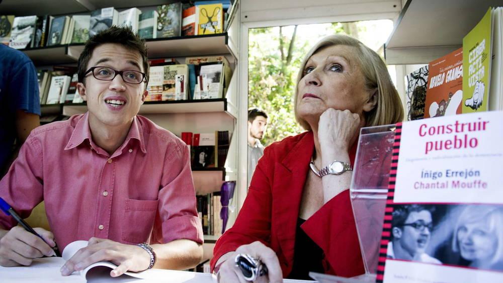 Inigo Errejon et Chantal Mouffe