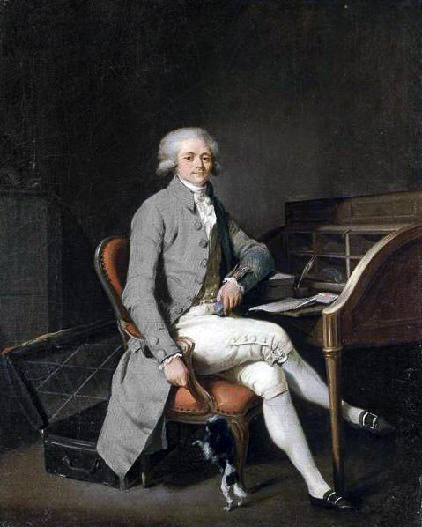 Maximilien Robespierre, par Louis Boilly