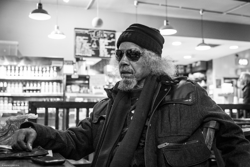 Jalal Mansur Nuriddin a.k.a. Lightning' Rod a.k.a. the Original Original, founder member of jazz/poetry instigators The Last Poets.